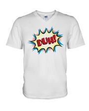 Duh V-Neck T-Shirt thumbnail