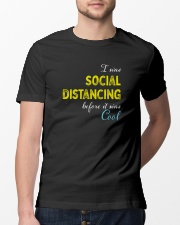 Social Distancing is Cool Classic T-Shirt lifestyle-mens-crewneck-front-13