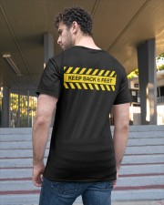 Keep Back Six Feet Classic T-Shirt apparel-classic-tshirt-lifestyle-back-48