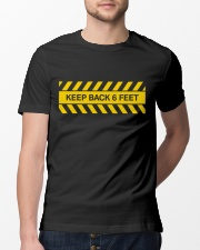 Keep Back Six Feet Classic T-Shirt lifestyle-mens-crewneck-front-13