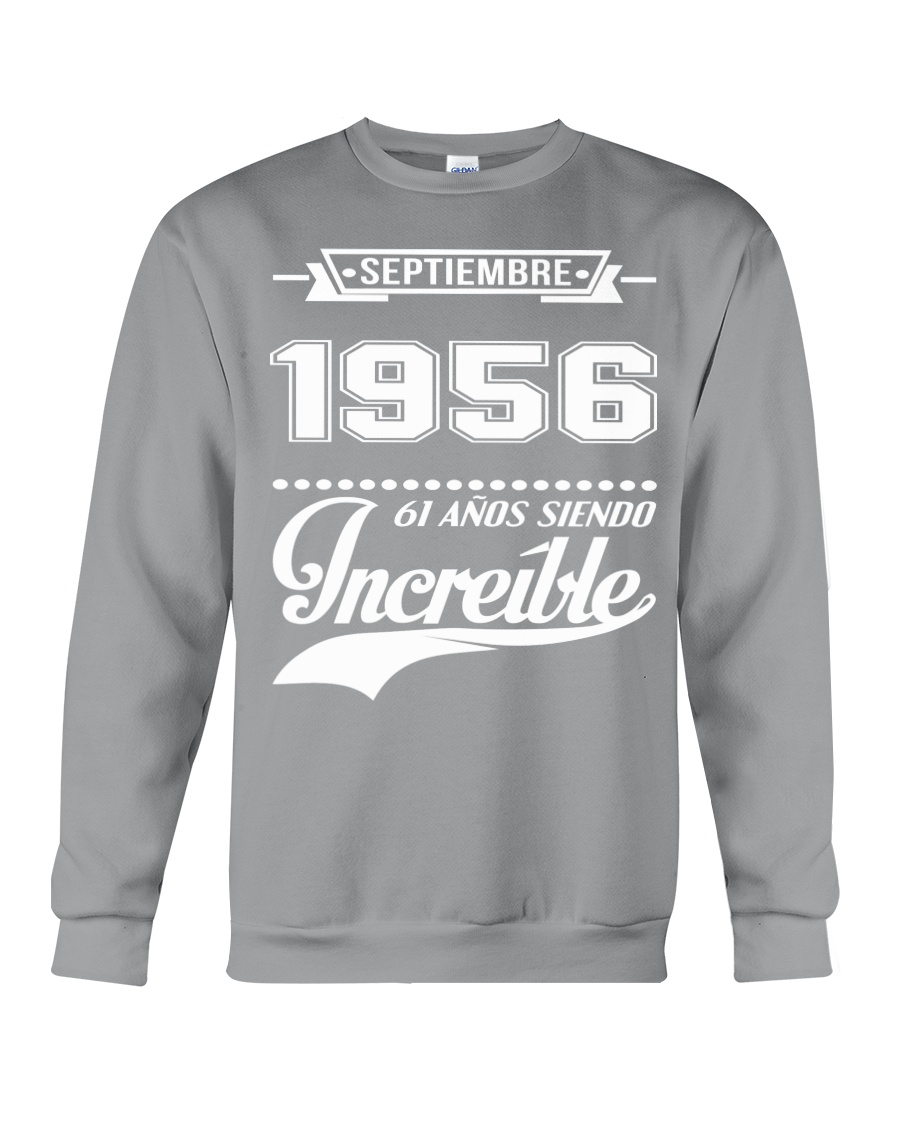 Septiembre 1956 Crewneck Sweatshirt