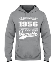 Septiembre 1956 Hooded Sweatshirt front
