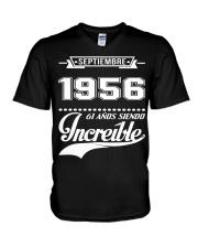 Septiembre 1956 V-Neck T-Shirt thumbnail