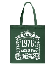 May 1976 Tote Bag front