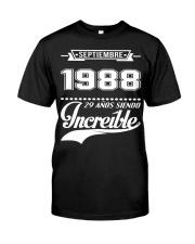 Septiembre 1988 Classic T-Shirt thumbnail