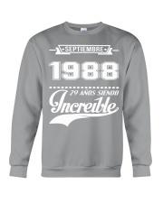 Septiembre 1988 Crewneck Sweatshirt front