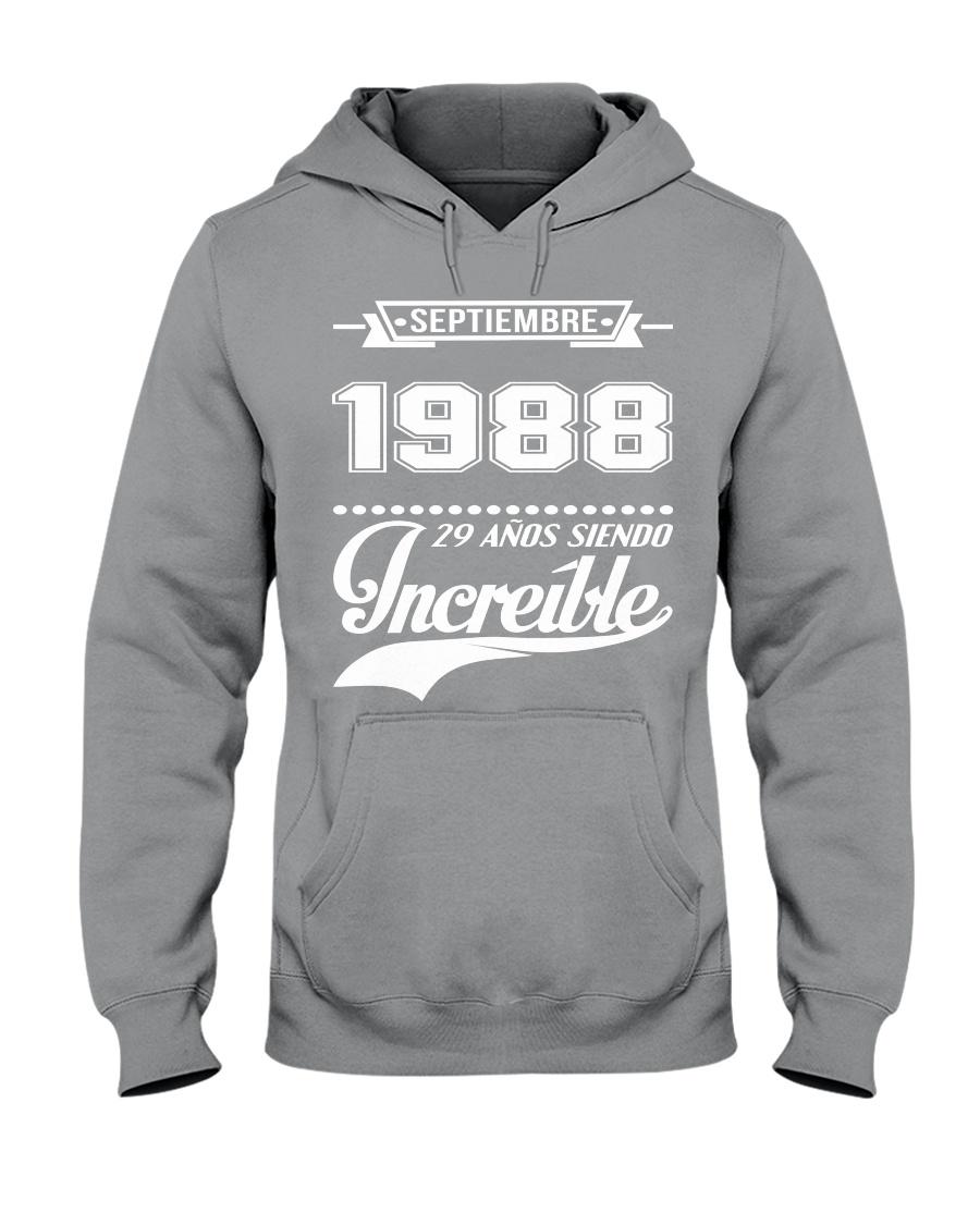 Septiembre 1988 Hooded Sweatshirt