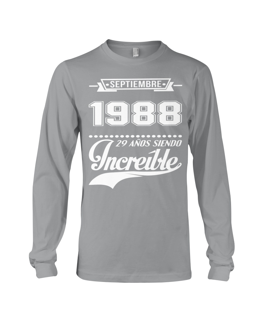 Septiembre 1988 Long Sleeve Tee