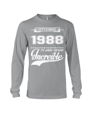 Septiembre 1988 Long Sleeve Tee front