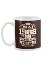 Mai 1988 Mug back