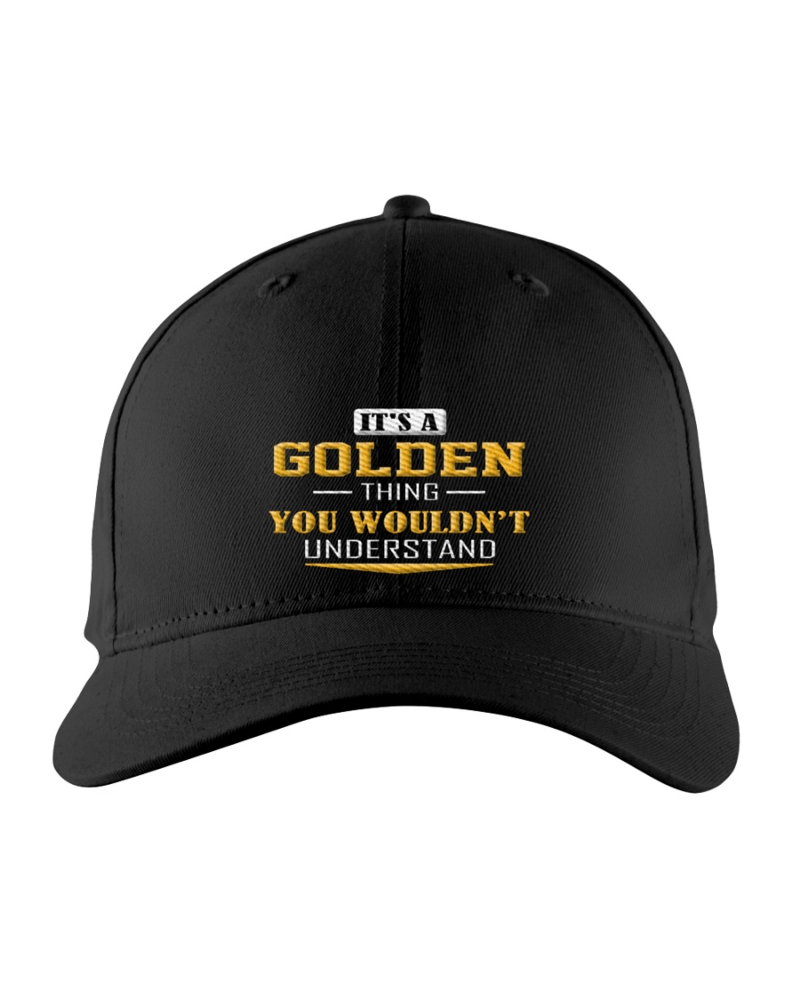 GOLDEN - Thing You Wouldnt Understand Embroidered Hat