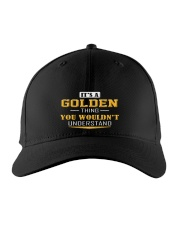 GOLDEN - Thing You Wouldnt Understand Embroidered Hat front