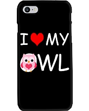 I LOVE MY OWL Phone Case thumbnail