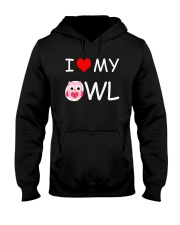 I LOVE MY OWL Hooded Sweatshirt thumbnail