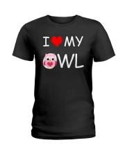 I LOVE MY OWL Ladies T-Shirt thumbnail