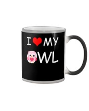 I LOVE MY OWL Color Changing Mug thumbnail
