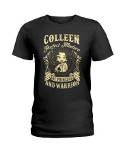PRINCESS AND WARRIOR - Colleen Ladies T-Shirt front