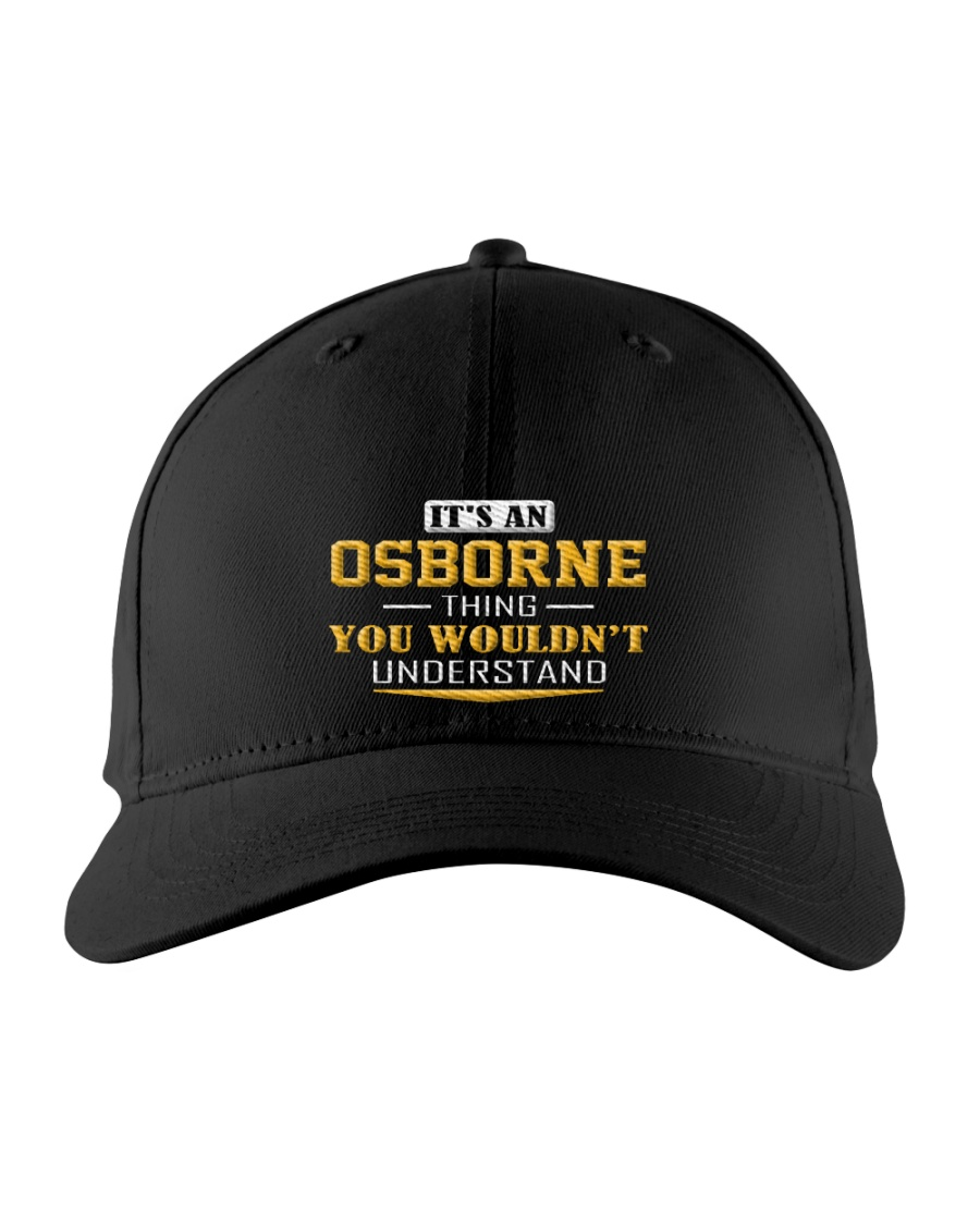 OSBORNE - Thing You Wouldnt Understand Embroidered Hat