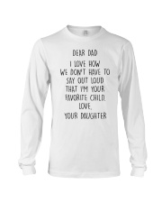 FATHER'S DAY GIFT V002 Long Sleeve Tee thumbnail