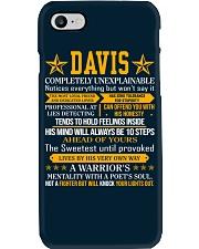 Davis - Completely Unexplainable Phone Case thumbnail