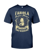 PRINCESS AND WARRIOR - Fabiola Classic T-Shirt thumbnail
