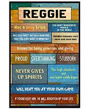Reggie - PT01 24x36 Poster front