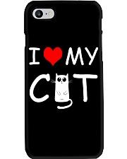 I LOVE MY CAT Phone Case thumbnail