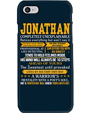 Jonathan - Completely Unexplainable Phone Case thumbnail