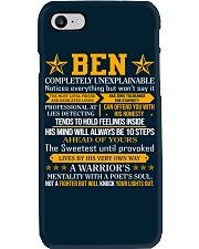 Ben - Completely Unexplainable Phone Case thumbnail
