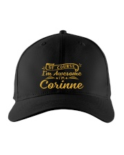 Corinne - Im awesome Embroidered Hat front