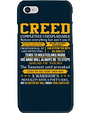 Creed - Completely Unexplainable Phone Case thumbnail