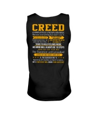 Creed - Completely Unexplainable Unisex Tank tile