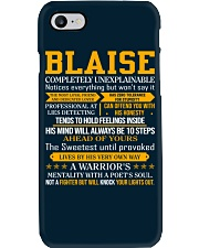 Blaise - Completely Unexplainable Phone Case thumbnail