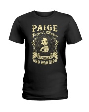 PRINCESS AND WARRIOR - Paige Ladies T-Shirt front