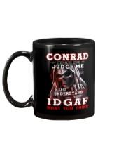 conrad - IDGAF WHAT YOU THINK M003 Mug back