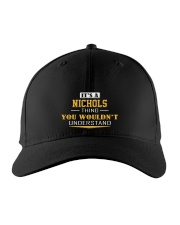 NICHOLS - Thing You Wouldnt Understand Embroidered Hat front