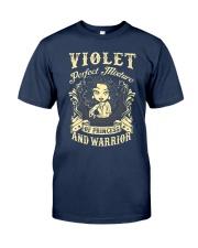 PRINCESS AND WARRIOR - VIOLET Classic T-Shirt thumbnail