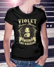 PRINCESS AND WARRIOR - VIOLET Ladies T-Shirt lifestyle-women-crewneck-front-7