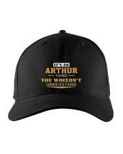 ARTHUR - THING YOU WOULDNT UNDERSTAND Embroidered Hat front
