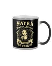 PRINCESS AND WARRIOR - Mayra Color Changing Mug thumbnail