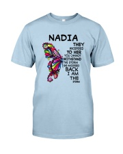 Nadia - Im the storm VERS Classic T-Shirt tile