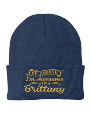 Brittany - Im awesome Knit Beanie thumbnail