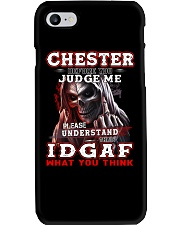 Chester - IDGAF WHAT YOU THINK M003 Phone Case thumbnail