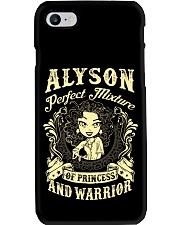 PRINCESS AND WARRIOR - Alyson Phone Case thumbnail