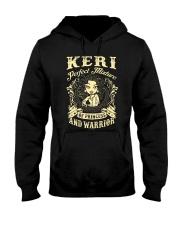 PRINCESS AND WARRIOR - KERI Hooded Sweatshirt thumbnail