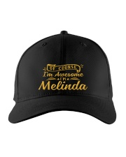 Melinda - Im awesome Embroidered Hat front