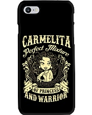 PRINCESS AND WARRIOR - CARMELITA Phone Case thumbnail