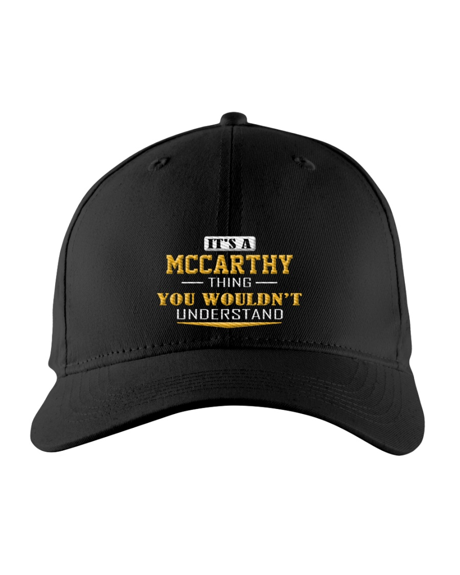 MCCARTHY - Thing You Wouldnt Understand Embroidered Hat