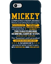 Mickey - Completely Unexplainable Phone Case tile