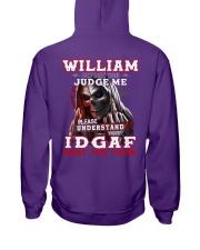 William - IDGAF WHAT YOU THINK M003 Hooded Sweatshirt thumbnail